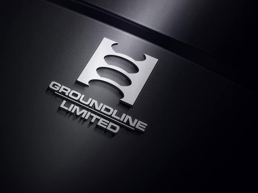 #584 for Logo Design for Groundline Limited by F5DesignStudio