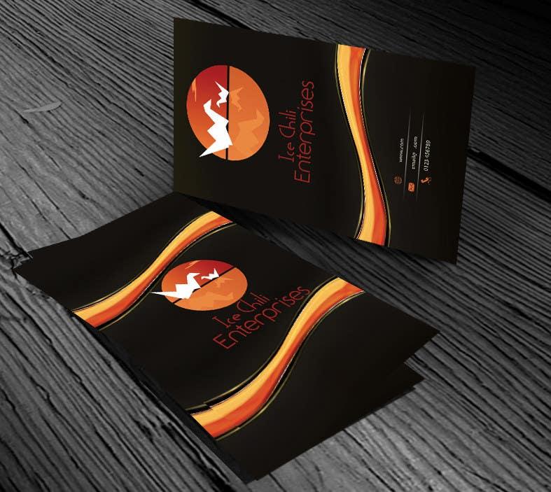 Kilpailutyö #                                        24                                      kilpailussa                                         Logo Design, Letterhead & Business Card for Ice Chili Enterprises