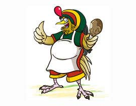 #57 para RASTA CHICKEN AKA MR. JERK!!! de sjbeckettdesign