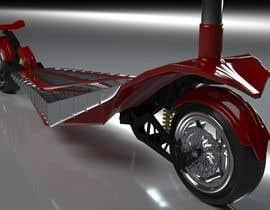 #44 для Design an electric scooter inspired after Ferrari F80 от DanijelZ