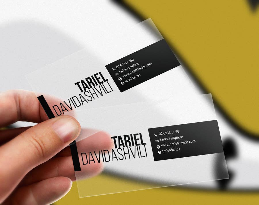 Entry #53 by youart2012 for Design some personal business cards and ...