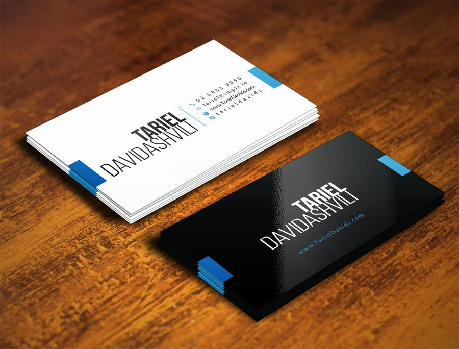 Design Some Personal Business Cards And A Humorous Job Title For Me