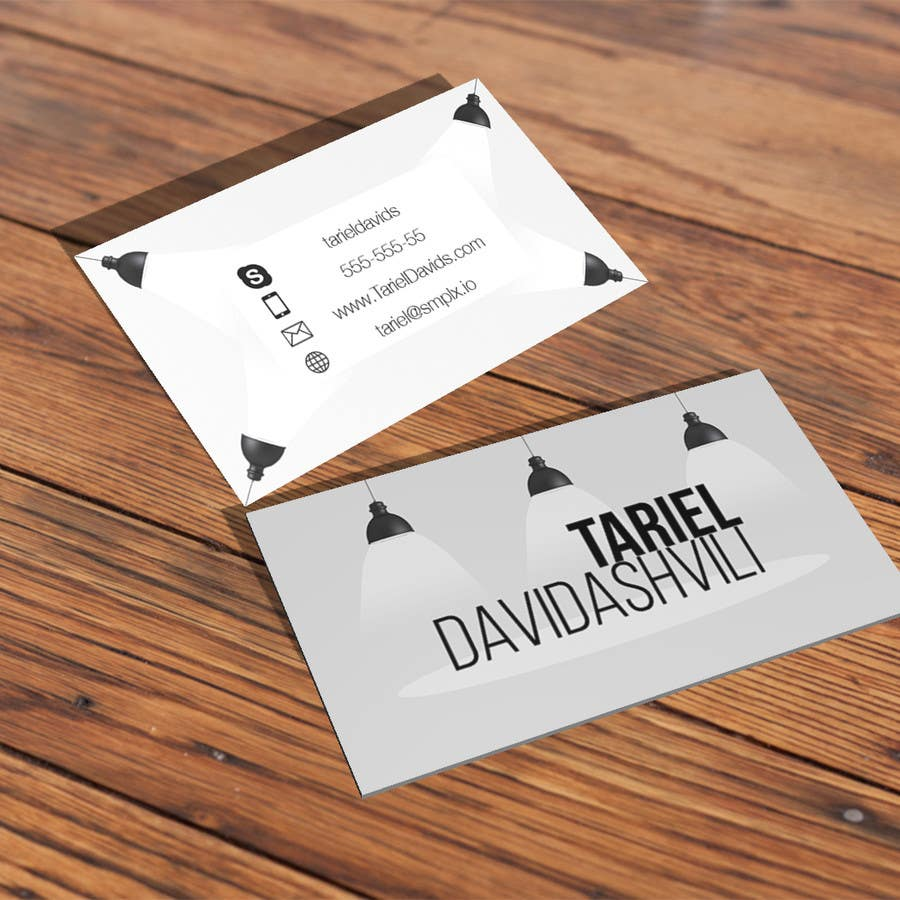 Entry #63 by Avtunich for Design some personal business cards and a ...