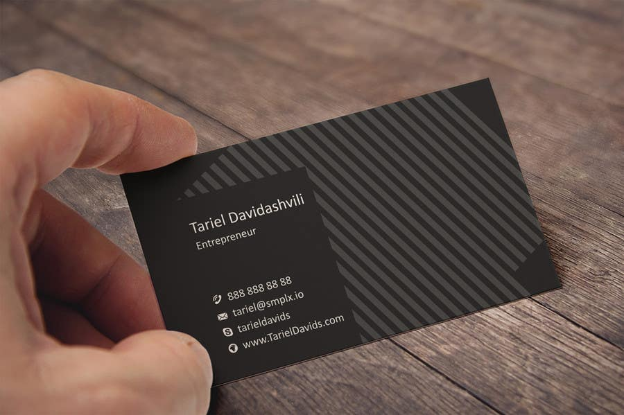 Entry #15 by flechero for Design some personal business cards and a ...