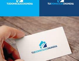 "#44 for Corporate logo ""tudomicilioenundia""  light blue by Rezaunnobii"