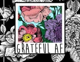 #100 для Grateful AF  - Book Cover от Nadiambis