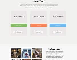 #33 for Website mockup - single page by preygrammer