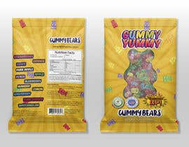 #86 for Create a design for the packaging - Gummy Bear Candy package design by cutterman