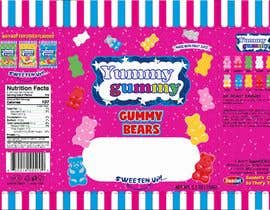 #59 for Create a design for the packaging - Gummy Bear Candy package design by Nomi794