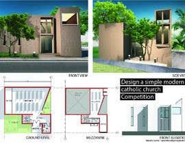 #31 для Design a simple modern catholic church от marcetheonlyone
