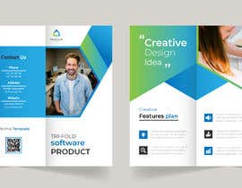 #4 for Trifold brochure for software product by Hafejiqbal