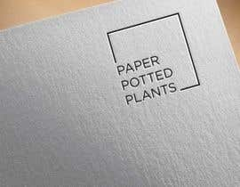 #11 for Logo for new company Paper Potted Plants by Ghaziart