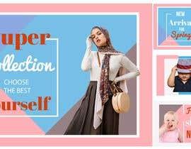 #23 for Banner design (1 banner - 4part) by Rezeka