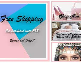 #27 for Banner design(divided in 4 small part) by farzanahdesigner