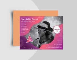#61 untuk Design a Concert Post Card oleh naveedahm09
