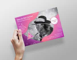 #64 untuk Design a Concert Post Card oleh naveedahm09