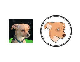#32 for Dog illustration by saseart