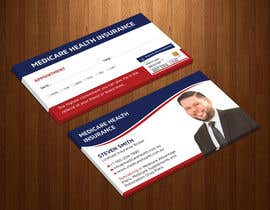 #83 for Design a Business Card with a Medicare Theme by Uttamkumar01