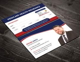 #280 for Design a Business Card with a Medicare Theme by Uttamkumar01