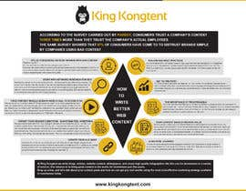 nº 8 pour New infographic design par developingzone