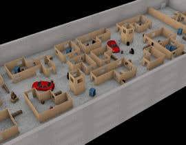 #3 для 3D Design of airsoft / laser tag indoor arena layout от BenjoJ