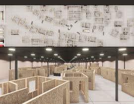 #24 для 3D Design of airsoft / laser tag indoor arena layout от crisromer