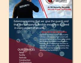 #153 for Flyer for Security Company by summrazaib22