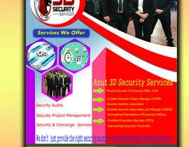 #152 for Flyer for Security Company by marufjsr15