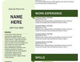 #19 для Resume Template in words. format от mohamedatefosman