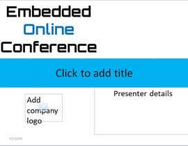 #65 for Conference PowerPoint Template by prabu2439
