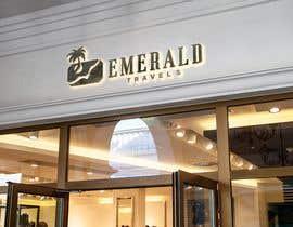 airbrusheskid tarafından Emerald Travels Logo için no 623