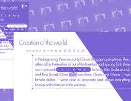#17 for Create beautiful design for an open source text editor by ritafaria2002