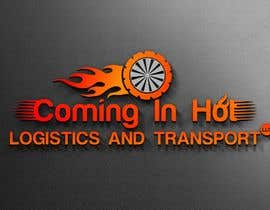 "#40 для I need a logo for my business the name has to be included ""Coming In Hot Logistics and Transport LLC"" creative ideas with different font incorporating flames and possibly a graphic with a dually truck pulling a trailer like the ones shown in the images от Bijoy1001"