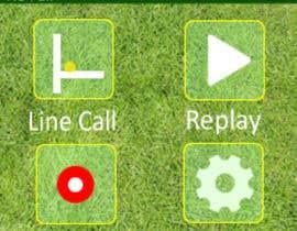 #4 для Graphical interface of a tennis sports device от pawangupta940