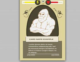 #28 for Trading Card Game Template Design. Possible Multiple Winners. af muakon69
