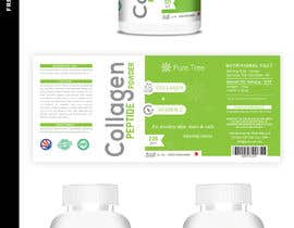 #107 для Product label template design for a nutraceutical brand -2 от matrix3x