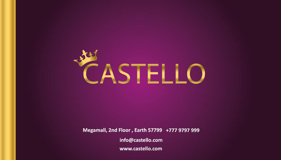Bài tham dự cuộc thi #                                        278                                      cho                                         Logo Design for a Fashion Store - Castello (footwear, clothing)