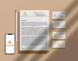 #552 para Business card & letter head de mjahangirpabna