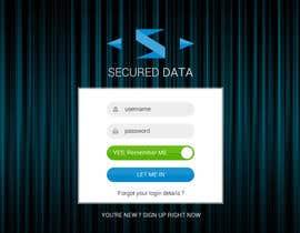 #44 , Design a Website Mockup for a security portal 来自 KsWebPro