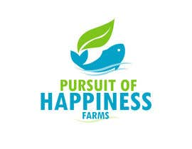 #188 for Logo and branding for Pursuit of Happiness Farms by jaywdesign