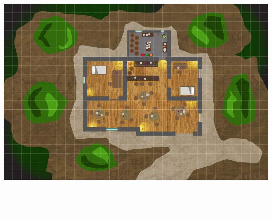 Contest Entry #                                        16                                      for                                         Maps for Tabletop RPG games