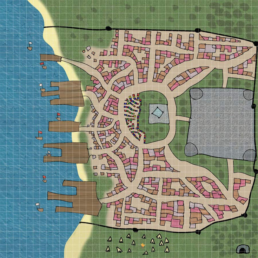Contest Entry #                                        11                                      for                                         Maps for Tabletop RPG games