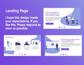 #7 для Make a clean and beautiful promotional page that fits my advertisement от ZANUARRENALDIE10