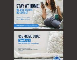 #16 for Direct mail (post card) design for home delivery service by iammar12