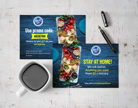 #118 for Direct mail (post card) design for home delivery service by uroojmughal484