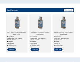 #16 for Design a website for a cosmetics brand selling hand sanitizer and masks by mostakimislam19