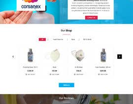 #34 for Design a website for a cosmetics brand selling hand sanitizer and masks by LynchpinTech
