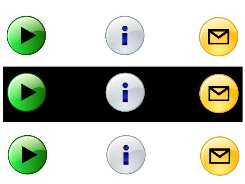 Bài tham dự cuộc thi #                                        25                                      cho                                         Icon or Button Design for Mobile Application