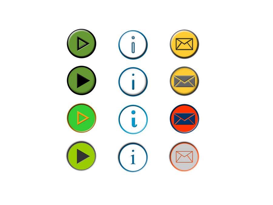 Bài tham dự cuộc thi #                                        18                                      cho                                         Icon or Button Design for Mobile Application