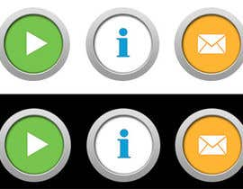 #17 untuk Icon or Button Design for Mobile Application oleh SheryVejdani